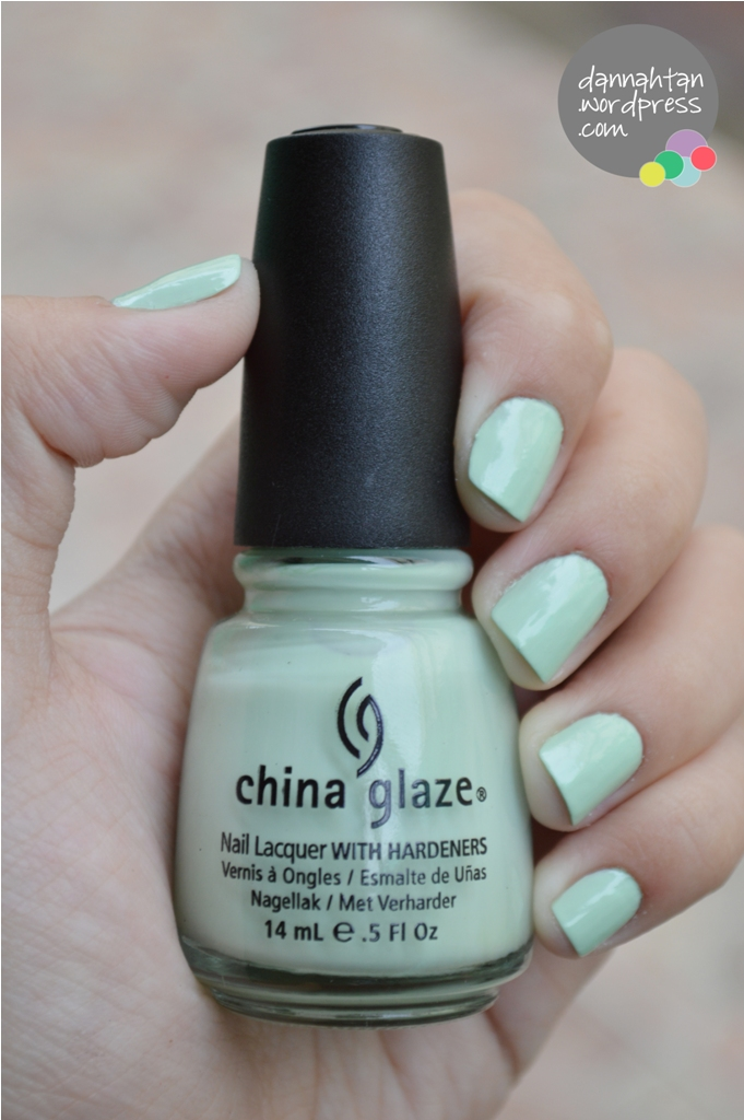 China Glaze - Re-fresh Mint